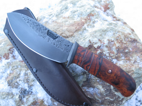 Premium Desert Ironwood Blued Nessmuk