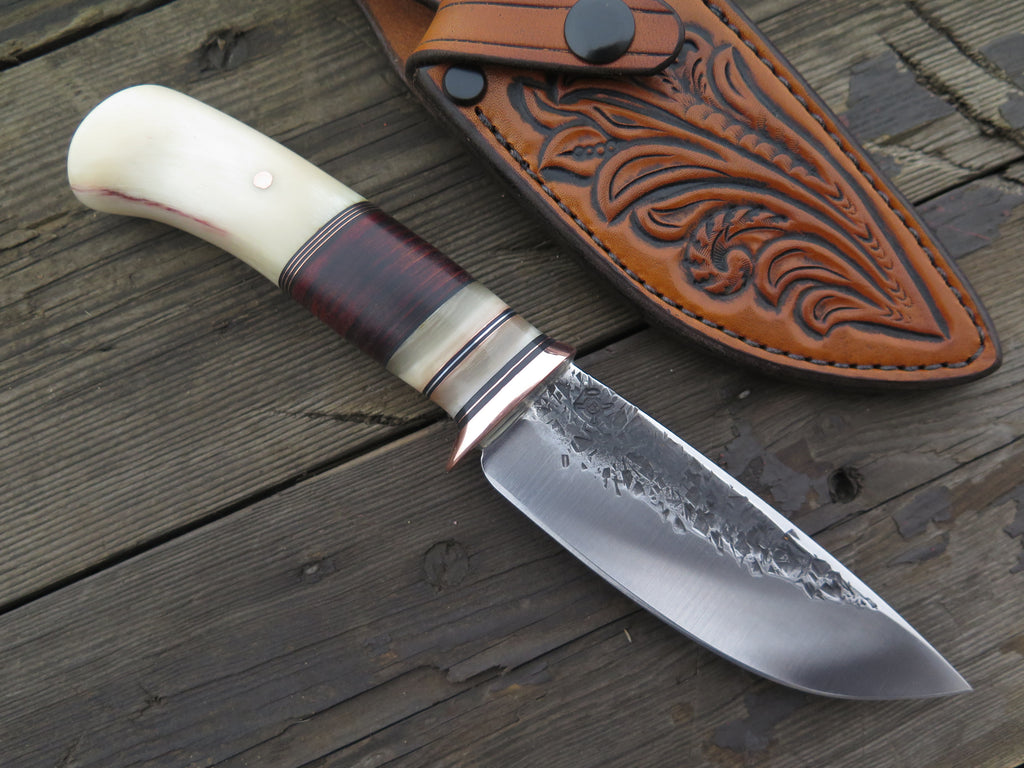 Musk Ox and Horsehide Drop Point
