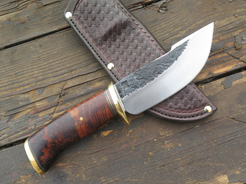 Desert Ironwood Burl & Brass Woodcraft