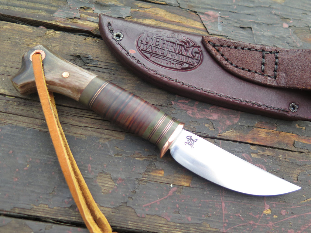 Crotch Stag & Horsehide Pintail