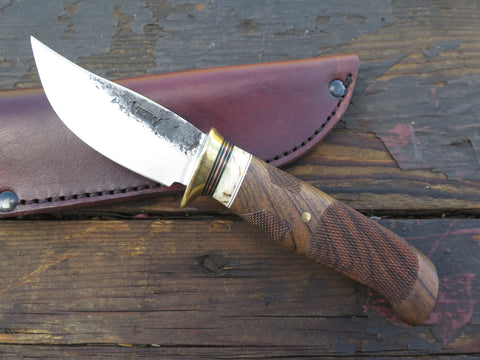 Checkered Walnut and Ox Boss Sharptail