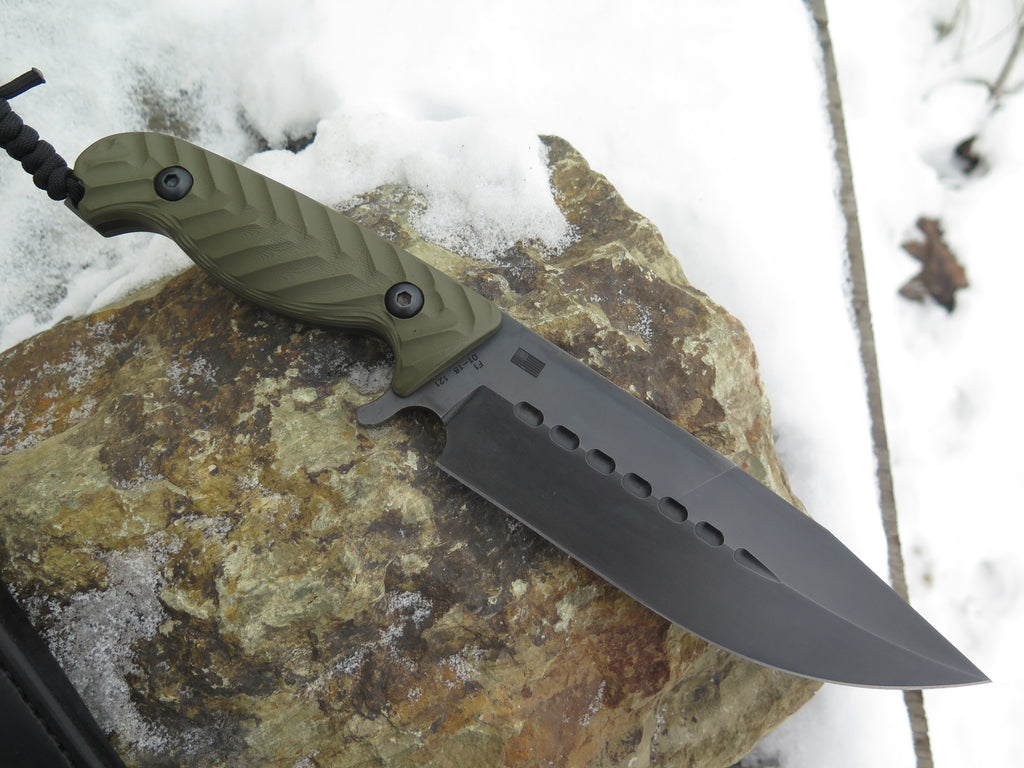 Behring Technical F-1 - Blued / OD G10