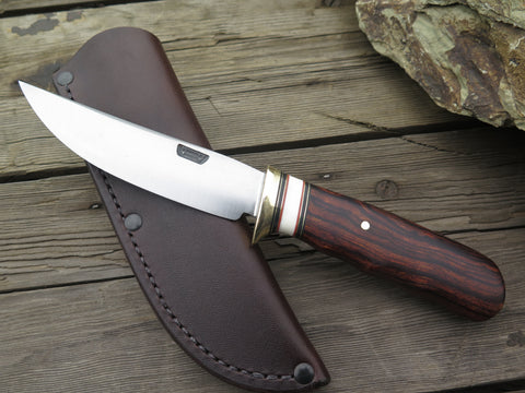 Premium Desert Ironwood and Fossil Walrus Trout & Bird