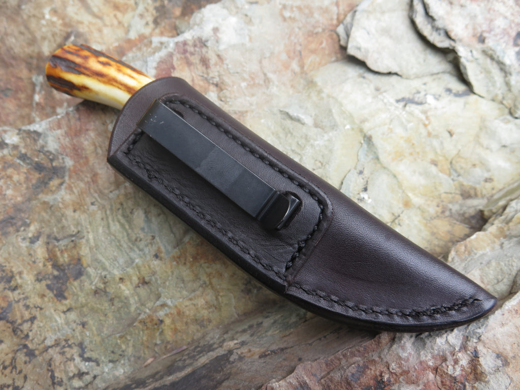 Horsehide and Stag Woodcraft Pocket