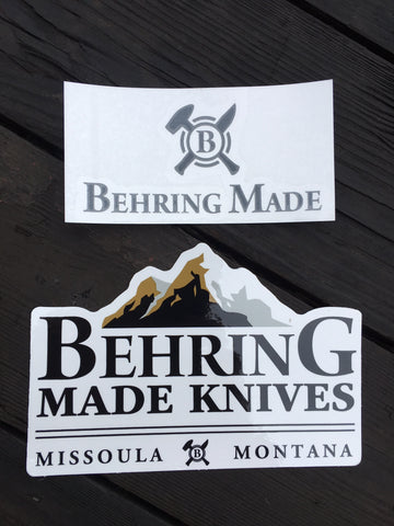Behring Made™ Decal Set