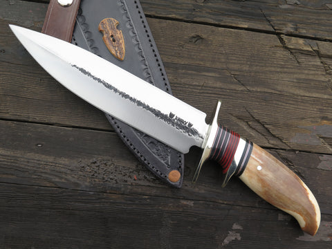"""J. Behring Jr. Montana"" Fossil Walrus Double Edge Fighter in Mudbone"