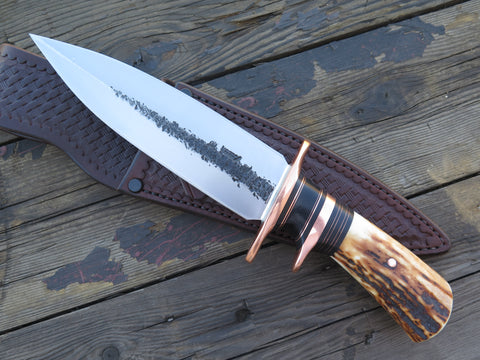 Premium Sambar Stag Double Edge Fighter