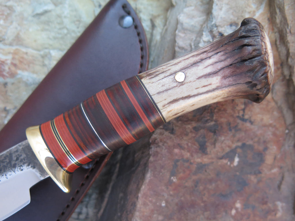 Muley Crown and Horsehide Drop Point