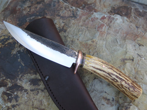Premium Shiras Moose Mission Knife