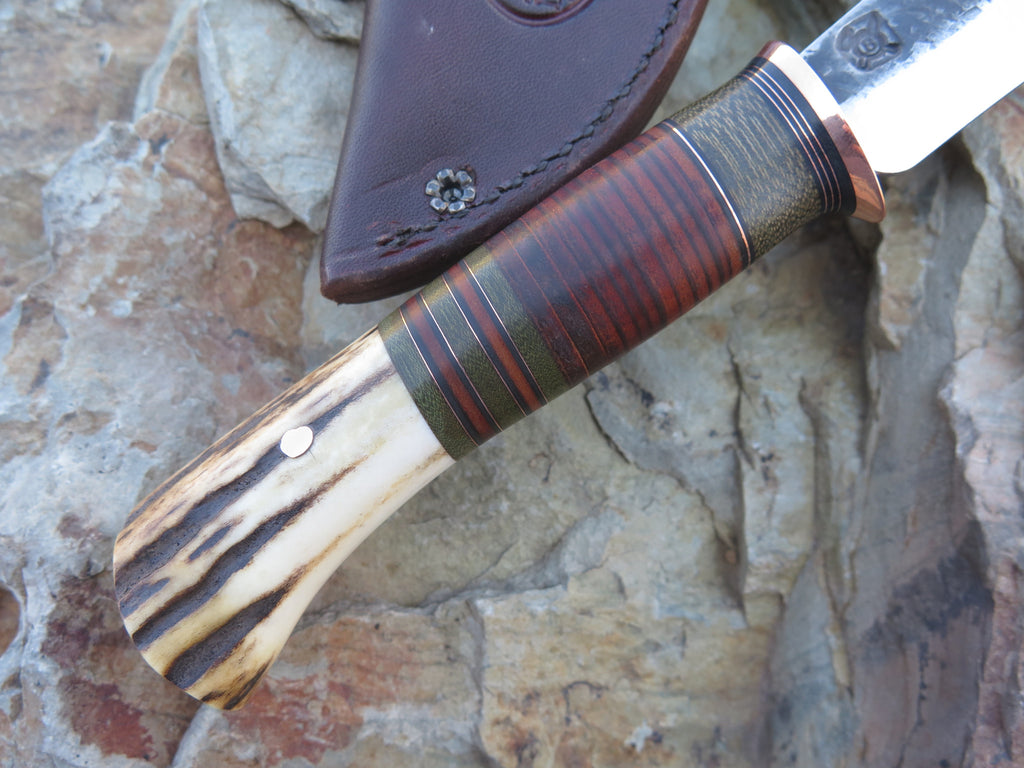 Sambar Stag and Horsehide Recurve Trout & Bird