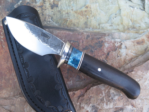 Ebony & Stabilized Giraffe Bone Highwoods