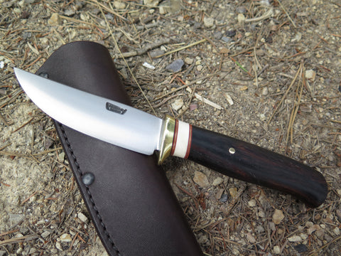 Cocobolo and  Fossil Walrus Trout & Bird