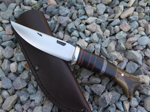 Crotch Stag and Horsehide Pintail