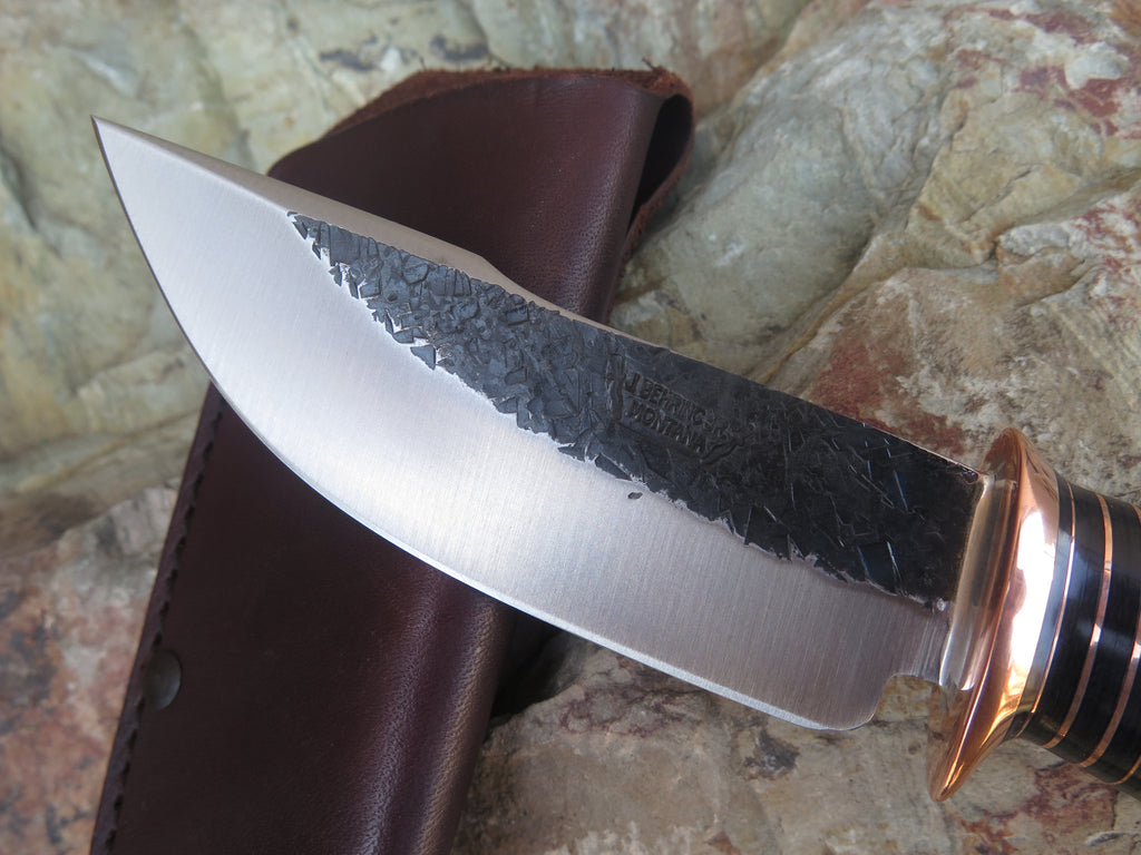 Black & Green Micarta Woodcraft