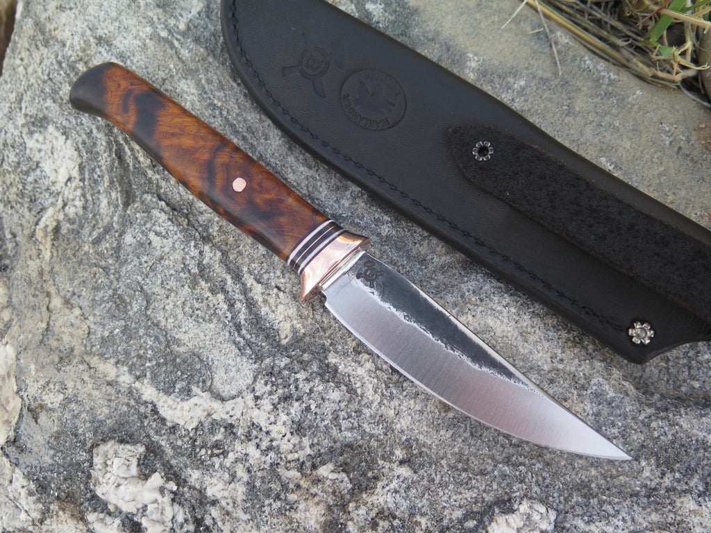 Premium Desert Ironwood Pintail w/ Warlander Leather