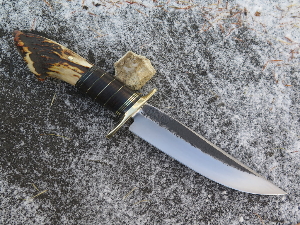 Premium Sambar Crown and Horsehide Fighter