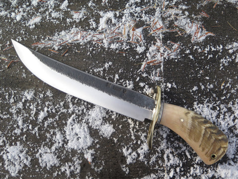 Dall's Sheep Horn Camp Knife