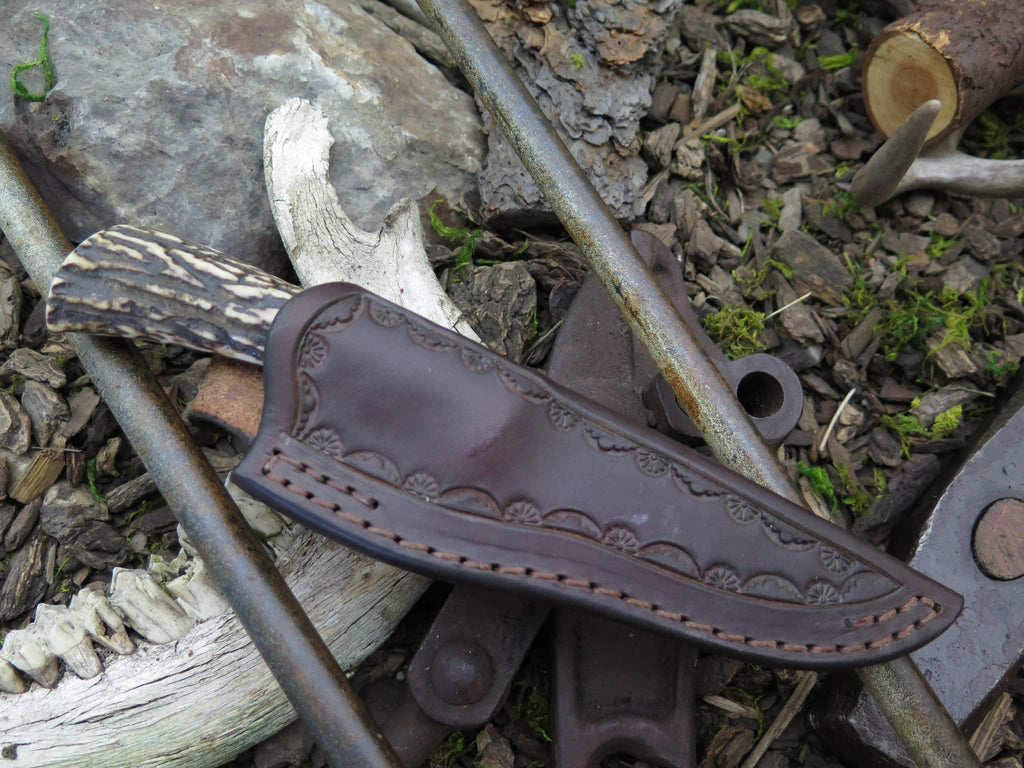 Sambar Stag Trout & Bird in Rowe's Leather