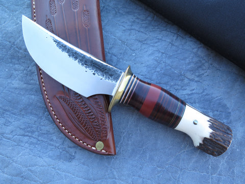 J. Behring Jr. Handmade stamp Scagel Style Crow's Beak Hunter