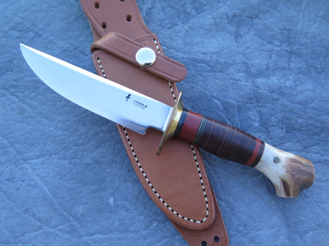 J. Behring Jr. Handmade Crotch Stag Little Fighter