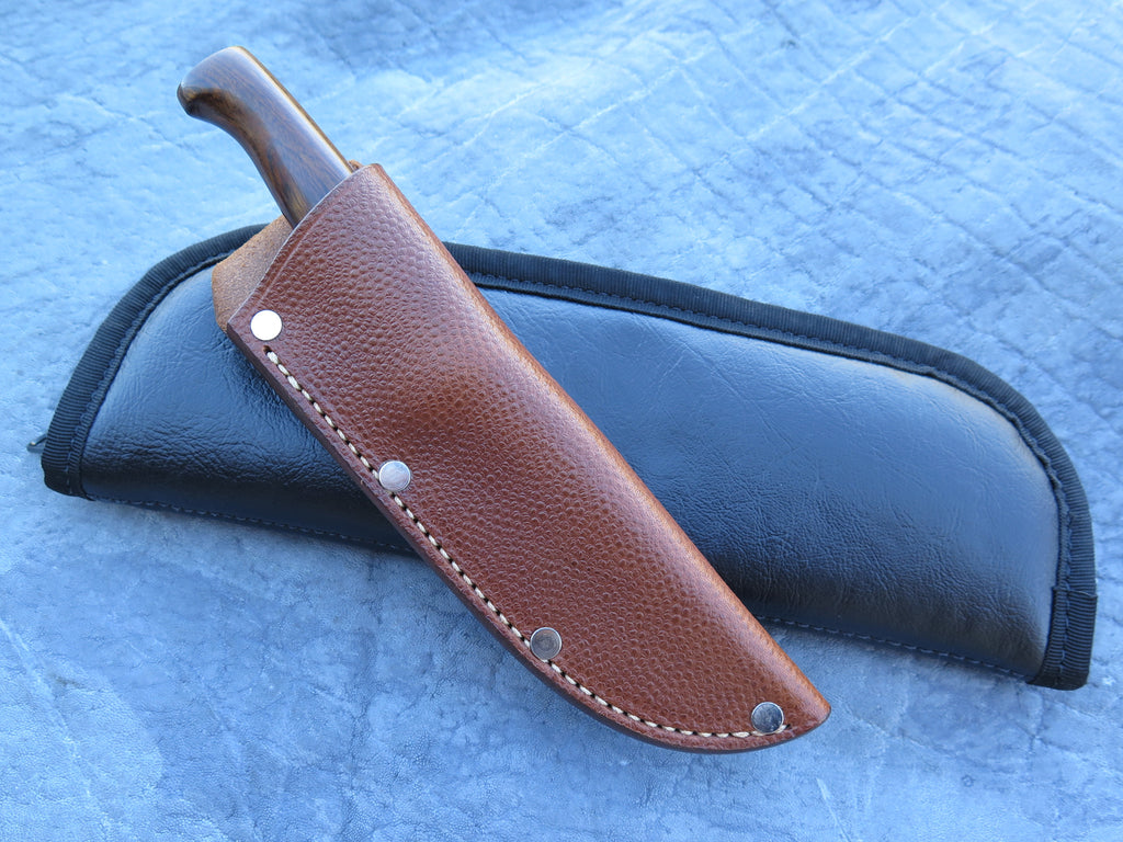 J. Behring Jr. Handmade Cocobolo and Walrus Studebaker Trout & Bird