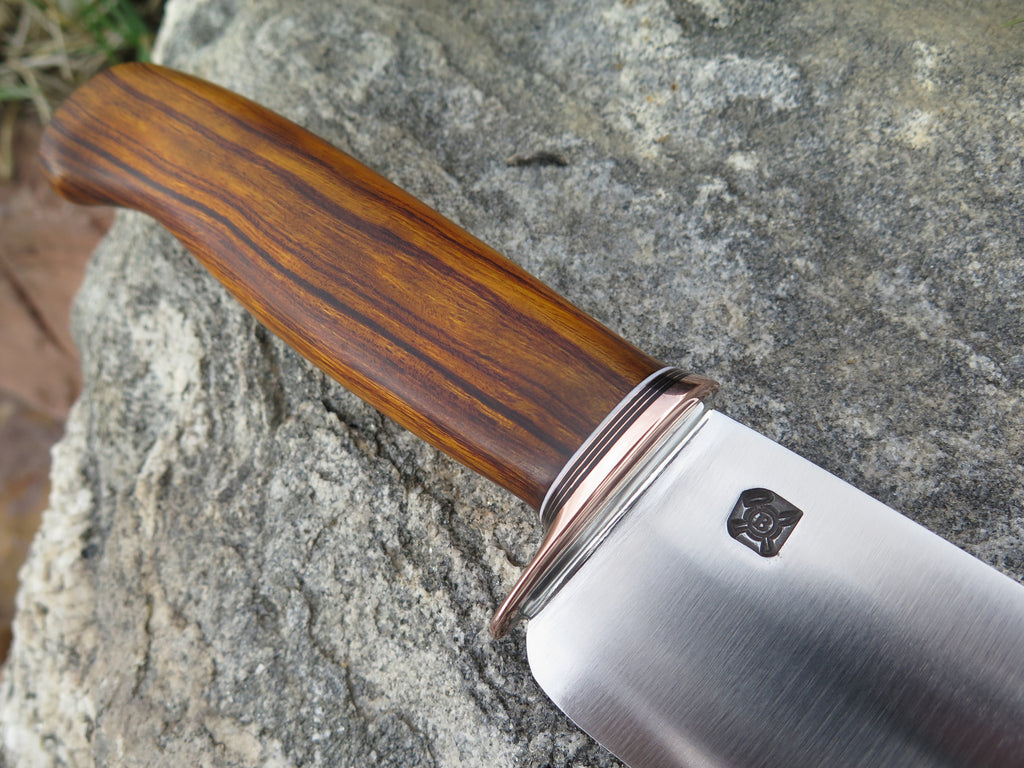 Cocobolo Stainless Chef knife