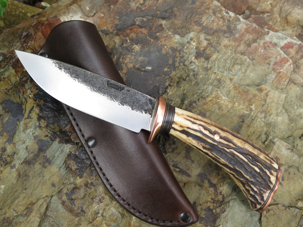 Premium Sambar Stag and Copper Drop Point