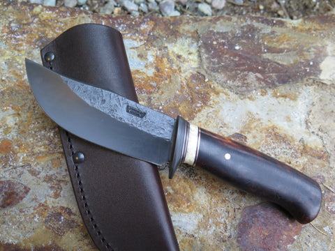 Premium Desert Ironwood and Fossil Walrus Blued Hunter