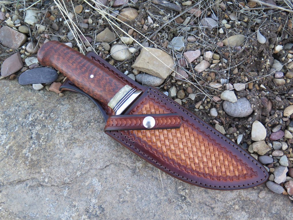 Snakewood & Musk Ox Camp Knife