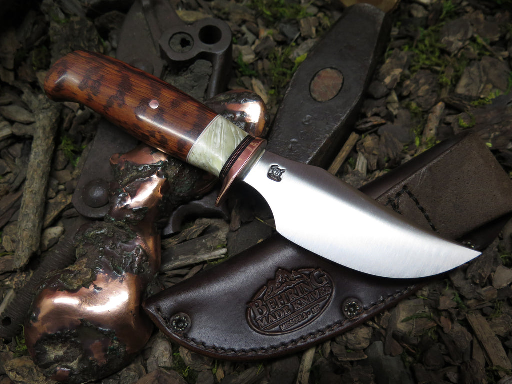 Snakewood & Ox Boss Finger Grip Hunter