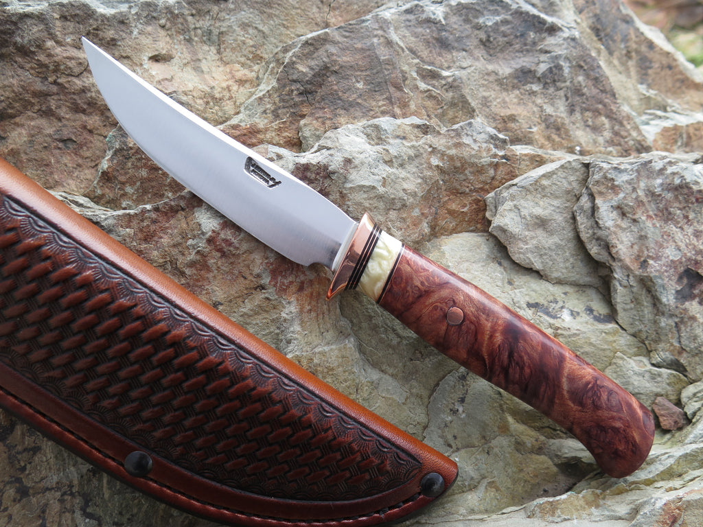 Redwood Burl and Musk Ox Boss Trout & Bird