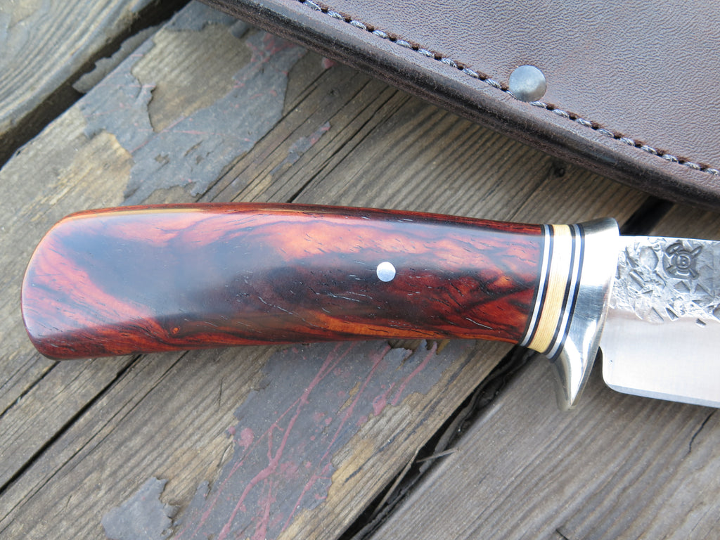 Cocobolo and Ivory Micarta Woodcraft