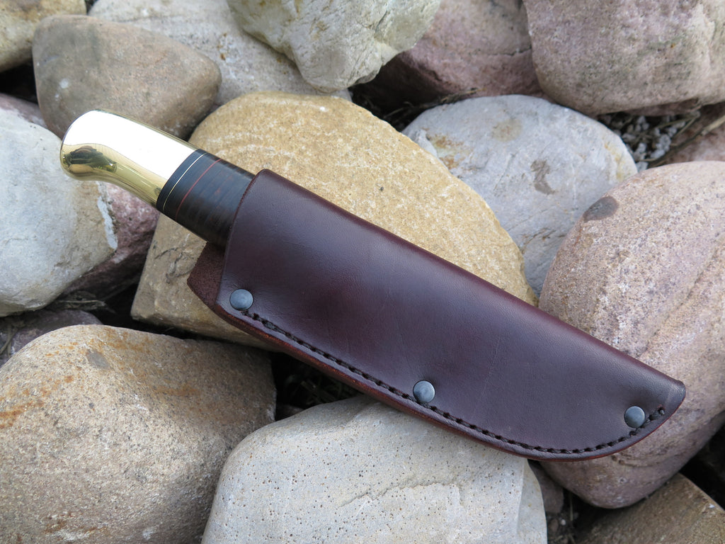Brass Butt & Horsehide Hunter