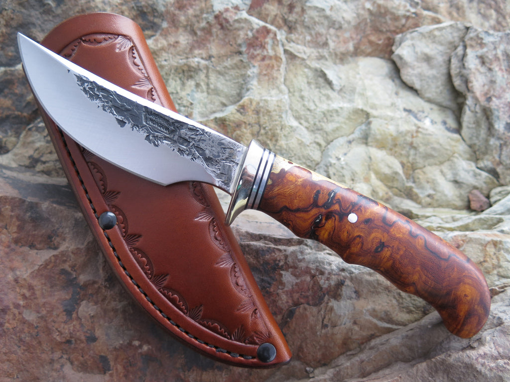 Premium Desert Ironwood Burl Ward Gay style Hunter