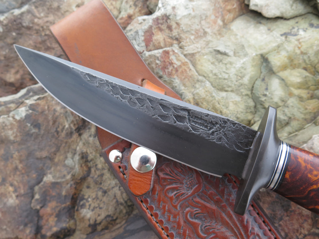 Premium Desert Ironwood Burl Blued Fighter