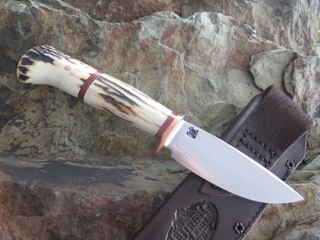 Two-Piece Sambar Stag Drop Point