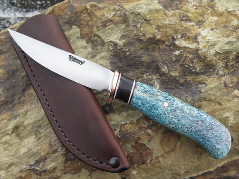 Premium Stabilized Giraffe Bone and Buffalo Horn Pintail