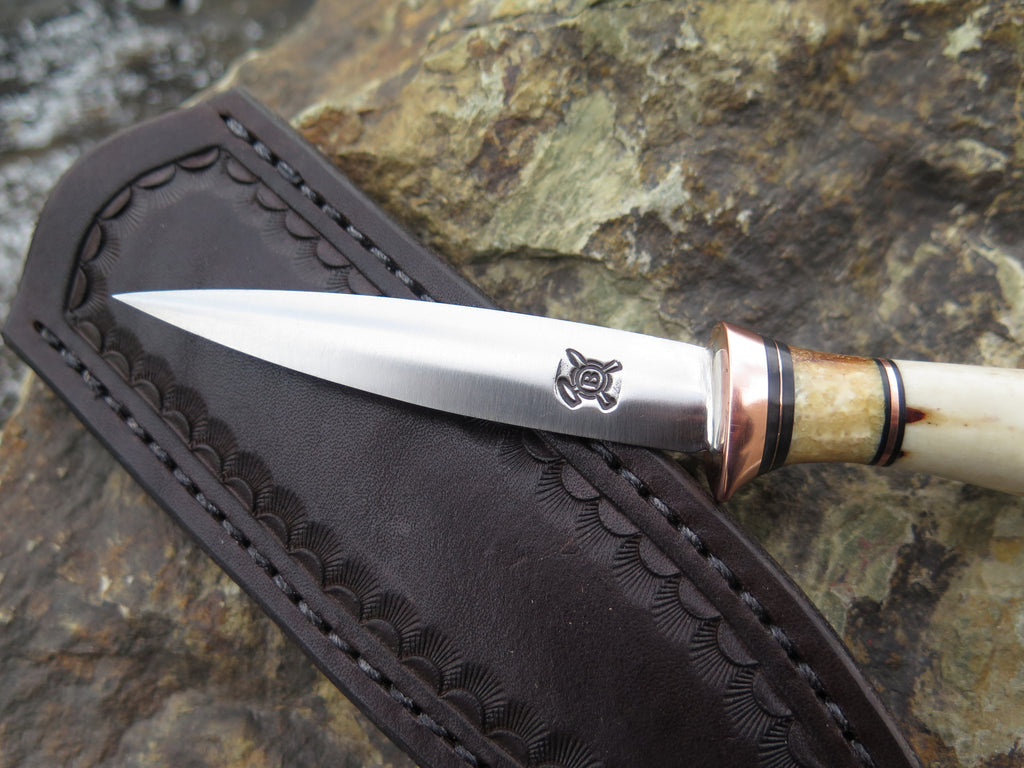 Premium Sambar Stag and Fossil Walrus Letter Opener