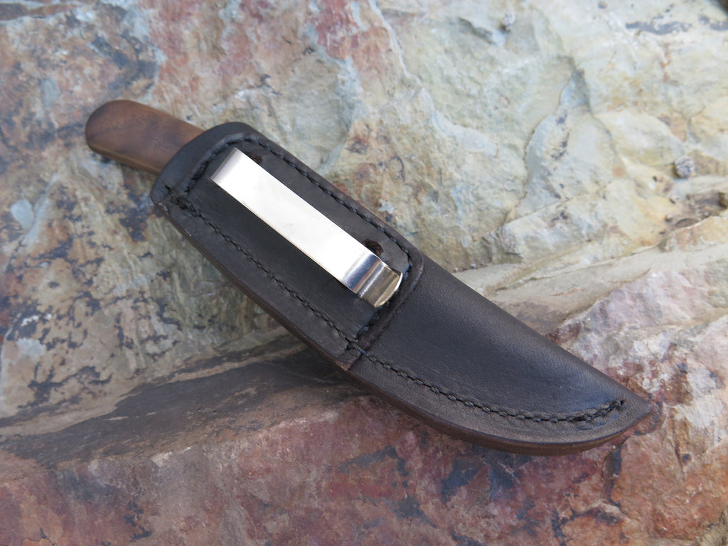Walnut & Musk Ox Pocket Knife