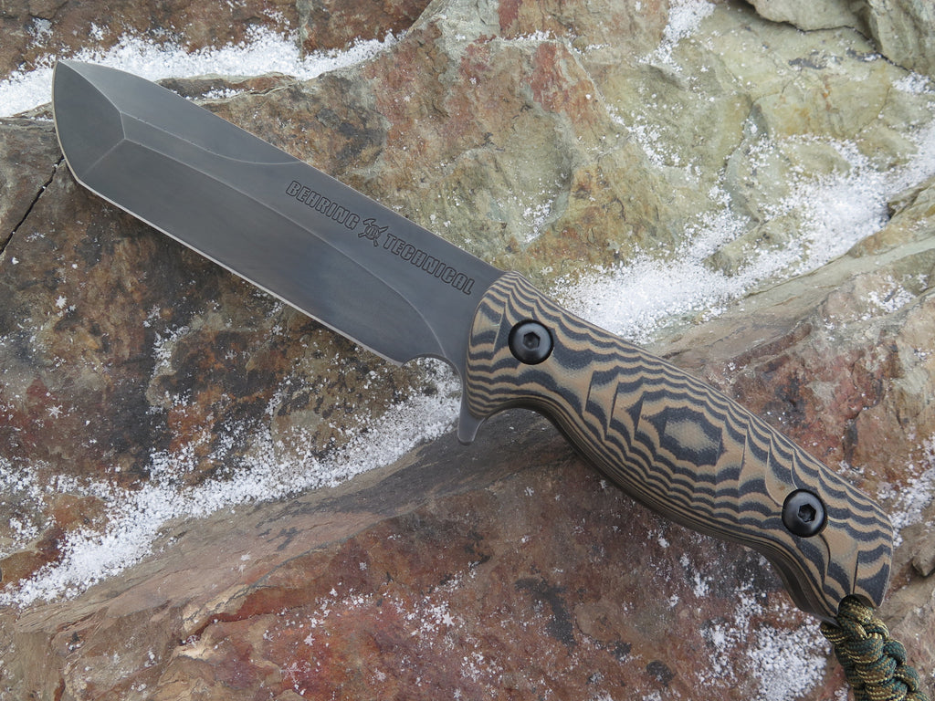 Behring Technical Valkyrie - Blued / Camo