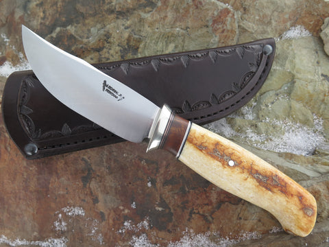 Premium Artifact Walrus and Ironwood Burl Hunter
