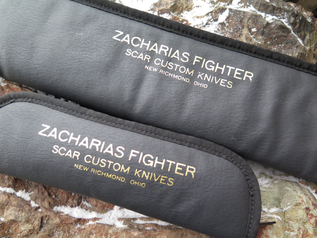 SCAR Knives Zacharias Fighter matching Serial #10 Set
