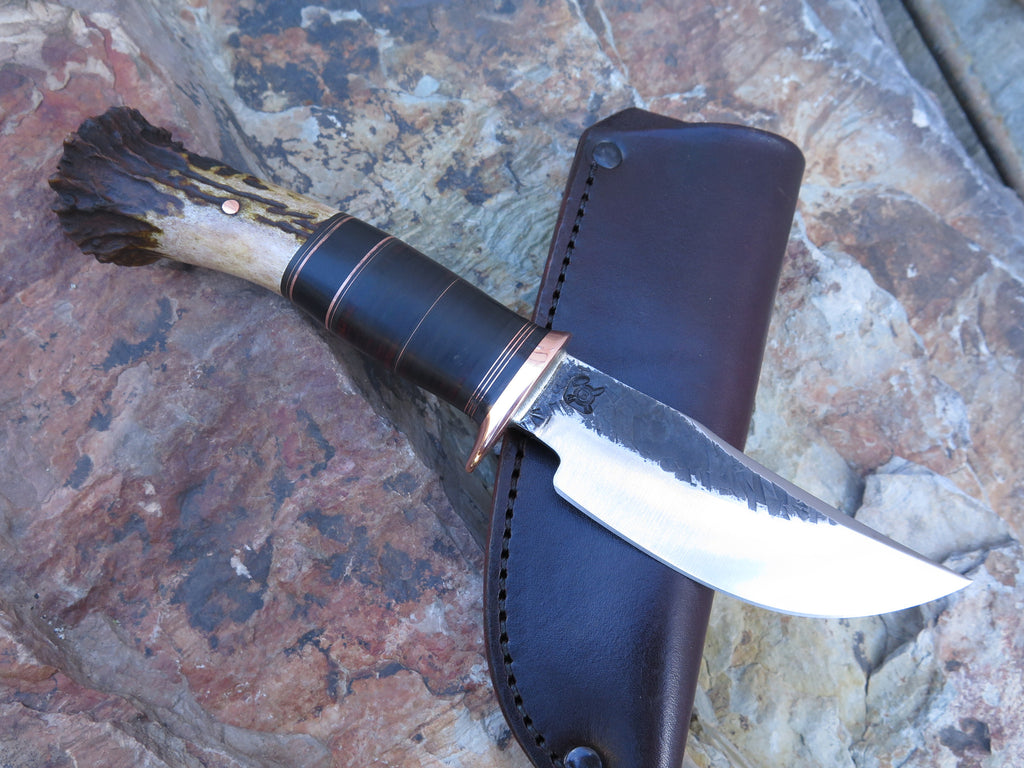 Crown Stag & Horsehide Clip Hunter