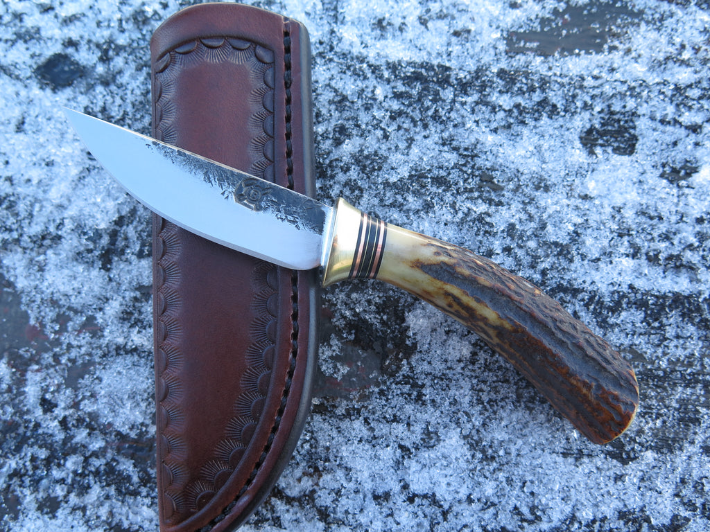 Sambar Stag Pocket Knife