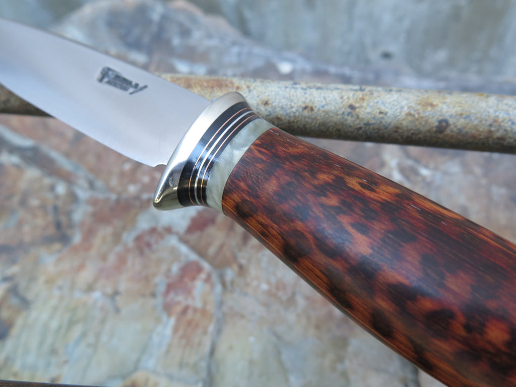 Stainless Snakewood & Ox Paring knife
