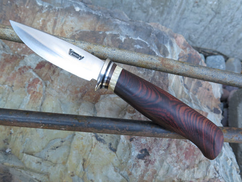 Stainless Cocobolo & Ox Paring knife