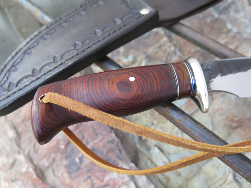 Premium Cocobolo Finger Grip Mission