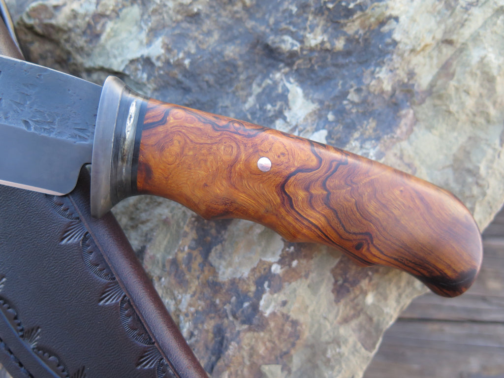 Ward Gay style Ironwood and Dall's Sheep Blued Hunter