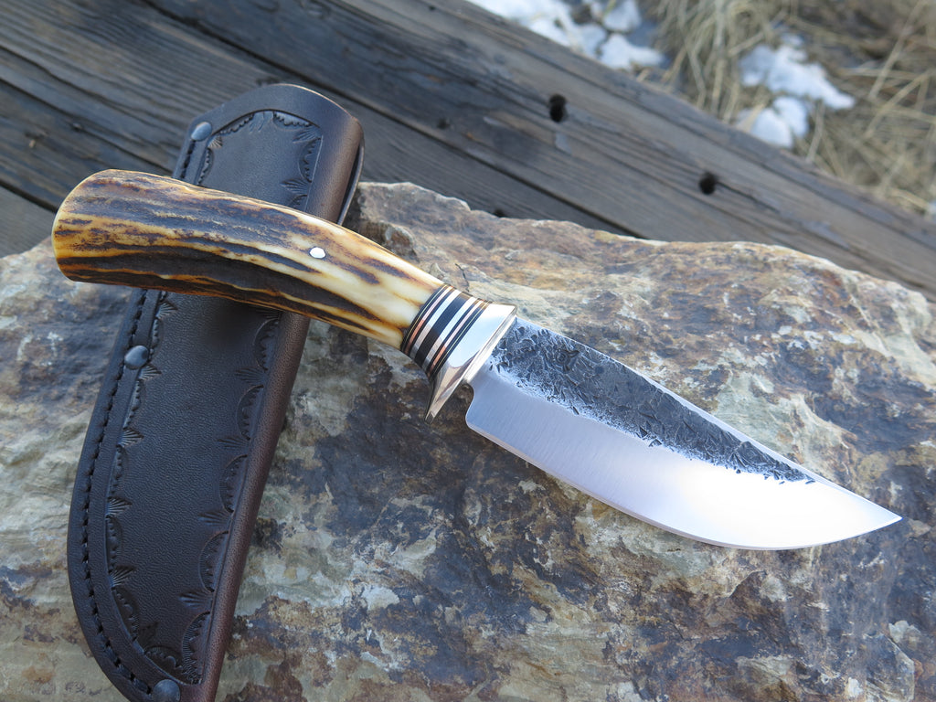 Wood Camo Full-Tang Hand Forged Uplander