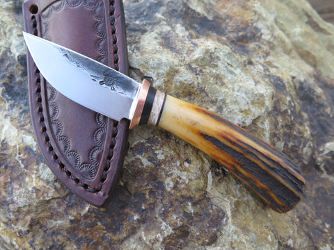 Premium Sambar Stag and Ox Boss 5th Pocket